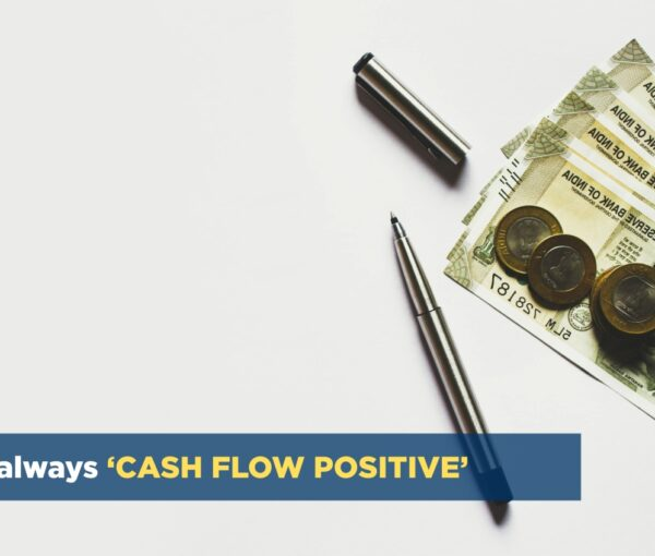 Optimized-cash flow positive